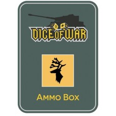 2nd Heer Gebirgsjager Division Ammo Box - Dice Tin