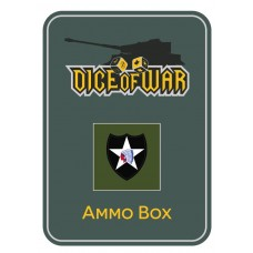 US 2nd Infantry (Indianhead) ALT Division Ammo Box - Dice Tin