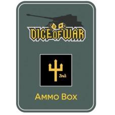 2nd Panzer Division Ammo Box - Dice Tin