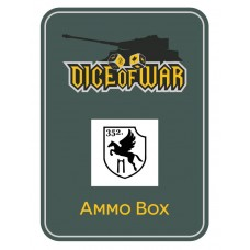 352nd Infantry Division Ammo Box - Dice Tin