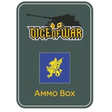 British 43rd Wessex Infantry Division Ammo Box - Dice Tin