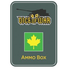 4th Canadian Armoured Division Ammo Box - Dice Tin