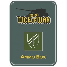 6th Guards Armoured Brigade Ammo Box - Dice Tin