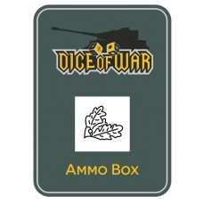 716th Static Infantry Division Ammo Box - Dice Tin