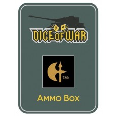 British 78th Infantry Division (Battleaxe) Ammo Box - Dice Tin
