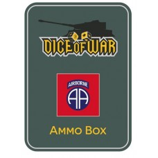 US 82nd Airborne Division (All American) Ammo Box - Dice Tin