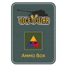 Alt Generic US Armoured Division Ammo Box - Dice Tin
