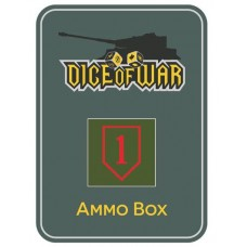 US 1st Infantry Division (Big Red 1) Ammo Box - Dice Tin
