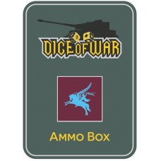 British 1st Airborne Division Ammo Box - Dice Tin