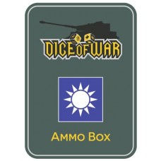 Chinese Kuomintang Ammo Box - Dice Tin
