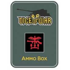 British Commando Ammo Box - Dice Tin