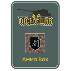 2nd SS Das Reich Panzer Division (Camo) Ammo Box - Dice Tin