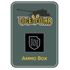 2nd SS Das Reich Panzer Division Ammo Box - Dice Tin