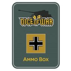 Dunkelgelb German Wehrmacht Ammo Box - Dice Tin