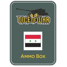 Syria UAR - Dice & Tin Set
