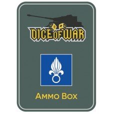 French Foreign Legion Ammo Box - Dice Tin