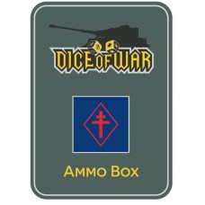 Free French Forces Ammo Box - Dice Tin