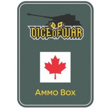 Generic Canadian Dice Ammo Box - Dice Tin