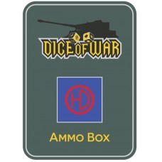British 51st Highland Infantry Division Ammo Box - Dice Tin