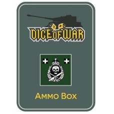 Hungarian Assault Gun Battery Ammo Box - Dice Tin
