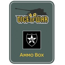US 2nd Infantry (Indianhead) Division Ammo Box - Dice Tin