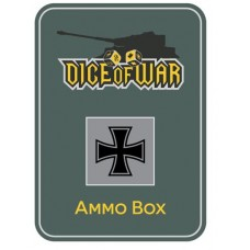 German Iron Cross Ammo Box - Dice Tin