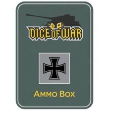 German Iron Cross Ammo Box - Dice Tin
