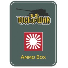 Alternate Japanese Flag Ammo Box - Dice Tin