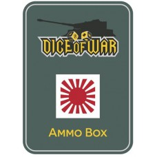 Imperial Japanese War Flag - Dice & Tin Set