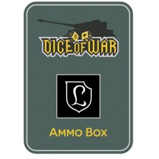 130th Panzer Division Lehr Ammo Box - Dice Tin