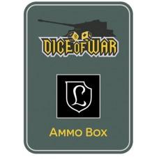 130th Panzer Division Lehr Ammo Box - Dice Tin