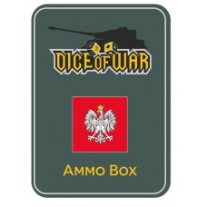 Polish Eagle Dice & Tin Set