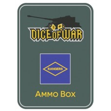 US Army Rangers Ammo Box - Dice Tin