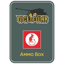 7th British Armoured Division Ammo Box - Dice Tin