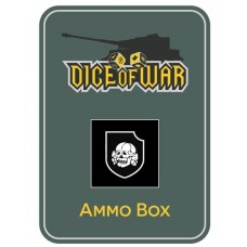 3rd SS Totenkopf Panzer Division Ammo Box - Dice Tin