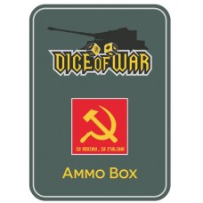 Alternate Soviet Hammer & Sickle - Dice & Tin Set