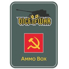 Soviet Hammer and Sickle Ammo Box - Dice Tin