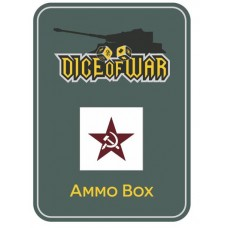 Soviet Winter Hammer and Sickle Ammo Box - Dice Tin
