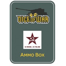 Alternate Soviet Red Star Winter Ammo Box - Dice Tin