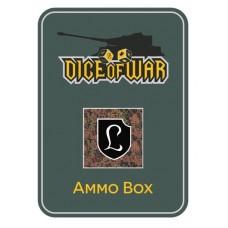 130th Panzer Division Lehr (Camo) Ammo Box - Dice Tin