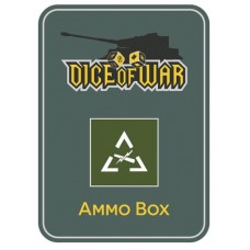Generic US Armoured Division - Dice & Tin Set