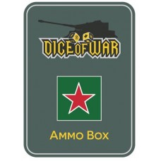 Soviet Red Star Ammo Box - Dice Tin