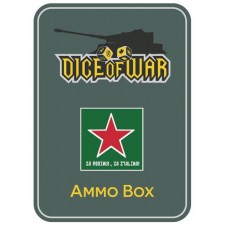 Alternate Soviet Red Star Ammo Box - Dice Tin