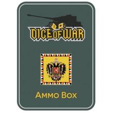 Napoleonic Dice - Austrian Eagle Dice & Tin Set