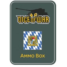 Napoleonic Dice - Bavarian Dice & Tin Set