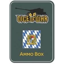 Napoleonic Dice - Bavarian Dice & Tin Set