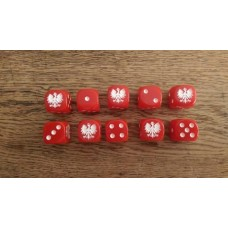 Napoleonic Dice - Duchy of Warsaw Dice