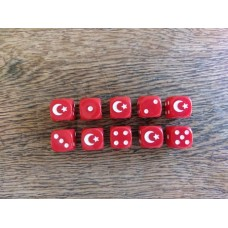 Napoleonic Dice - Ottoman Empire Dice