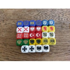 Napoleonic Dice - Mixed Set (28) Dice