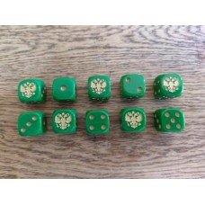 Napoleonic Dice - Russian Eagle Dice